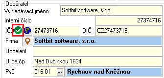 CreditCheck v programu SQL Ekonom